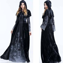 $enCountryForm.capitalKeyWord Australia - Halloween theme cosplay party Black Devil Costume Christmas Outfit Witch Costume Vampire Dress Up Uniform Party