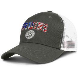 b8e42396443e67 Fashion Mesh Visor cap Men Women-NHL Boston Bruins flag designer caps  snapback Adjustable Sun hat Outdoor