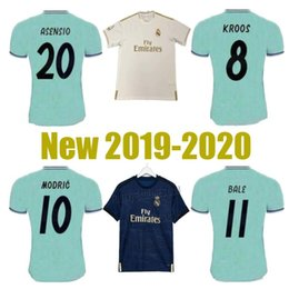 football league NZ - New Thailand Champion Real madrid 19 20 league EA Sports Jerseys 2020 MARIANO Real madrid ISCO soccer jerseys MODRIC football shirt