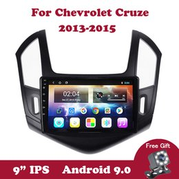 dvb player android NZ - Android 9.0 IPS Car DVD GPS Player For Chevrolet Cruze 2013 2014 2015 2din Support Steering Wheel Contorl Carplay DVR OBD2 DVB