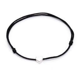 gold set jewelry for children 2019 - 20pcs lot Lucky Silver Heart Bracelet For Women Children Red String Adjustable Bracelet DIY Jewelry new discount gold se