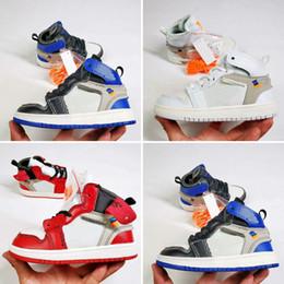 $enCountryForm.capitalKeyWord Australia - Free shipping kids Original brand fashion designer shoes sneakers j1 1s 1 high basketball shoes white black red blue grey cheap sale