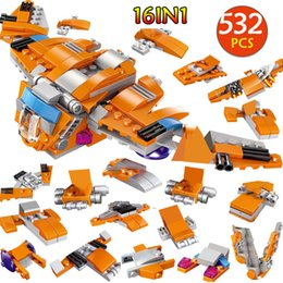 $enCountryForm.capitalKeyWord NZ - 532pcs Technic Helicopter Bricks Super Heroes Guardians Of The Galaxy The Abilisk Aircraft Building Blocks Kits Toy For Kids Boy J190719