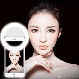 Lighting Cameras Australia - Beauty Selfie Led Light Camera Phone Photography Selfie Light