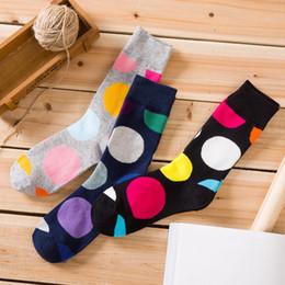 Mens Cotton Socks Sale NZ - mens women designer brand socks sock new wholesale big men's tube cotton tide socks happy cross-border hot sale brand happy crew gcds