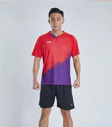 $enCountryForm.capitalKeyWord Australia - New 2019 Li Ning Men's and Women's Badminton T-shirts shorts,Match Clothes, Badminton t-Shirts Shorts, Table Tennis Shirts, Free Shipping