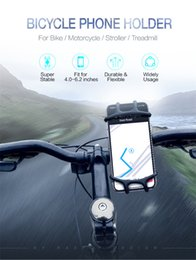 Brackets material online shopping - Bicycle cellphone silicone bracket bicycle navigation shatter resistant mobile phone bracket for inch soft plastic material
