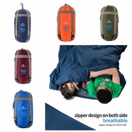 Supply 3f Ul Gear 2019 Tyvek Sleeping Bags Cover Camping Bags Waterproof Ventilate Moisture-proof Warming Every Dirty Inner Liner Sleeping Bags Sports & Entertainment