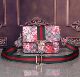 $enCountryForm.capitalKeyWord NZ - 2019 Hot Famous Brands Women Handbags L Flower Designer Composite Bags Lady Clutch Shoulder Tote Female Purse With Wallet B014