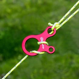 $enCountryForm.capitalKeyWord Australia - 10pcs Quick Knot Tent Wind Rope Buckle 3 hole Antislip Camping Hiking Tightening Hook Wind Rope Buckles
