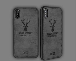 Hot Selling New Iphone Case Australia - Cloth Deer Back Case For iPhone XS MAX XR X 7 8 Plus Cover for iphone 6s Plus Back Shockproof Soft Cases New hot sell Cover