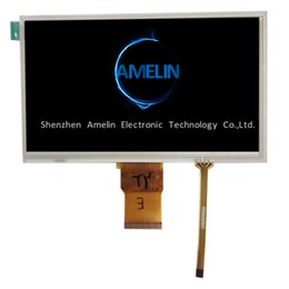 Tft Lcd Touch Screen Module Australia - 7 inch lcd 1024x600 with Resistance touch screen TFT display module 7 lcd screen