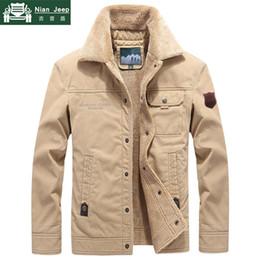 Plus Size Windbreaker Jackets Australia - 2019 Winter Outwear Jacket Men Thicken Wool Liner Warm Coat Male Windbreaker Men Jacket chaqueta hombre Plus Size M-6XL