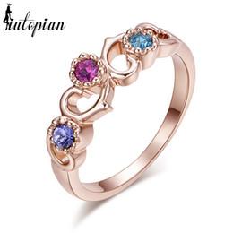 $enCountryForm.capitalKeyWord Australia - Fashion Jewelry Rings Iutopian Brand 18KGP Ring Made With Austrian Crystal Stellux High Quality NO MOQ 1#RG95777