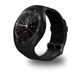 Bluetooth Smart Watch Sim Australia - Smart Watch Men Bluetooth Sport Watches Women Ladies Rel gio Smartwatch with Camera Sim Card Slot Android Phone