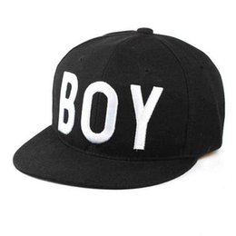 baby boy cap spring UK - De071 Boy Letter Baby Boy Girls Hats Cool Style Baseball Cap Children Boy For Spring Autumn Hip-pop Sun Hat For Travel School J190528