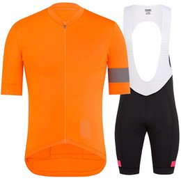 shorts tights set NZ - Runchiita tight style 2019 summer pro team cycling jersey set short sleeve cycling clothes men ropa de hombre 2019 ciclismo ropa