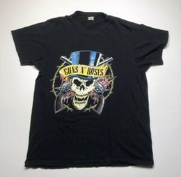 $enCountryForm.capitalKeyWord NZ - Vtg Guns And Roses 1991-1992 Get In The Ring Tour T Shirt Size XL BlaPrint