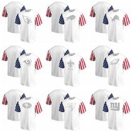 Cardinals Buffalo Bills New Orleans Saints Tee Philadelphia Eagles  Buccaneers New York Giants Pro Line by Fanatics Stars   Stripes T-Shirt 24e85aad6