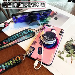 Banking Case Australia - 3D Retro Camera lanyard phone Case designer luxury For Iphone X XR XS MAX 6S 7 8 Plus Samsung Galaxy S8 S9 s10 e huawei Cases bank cover