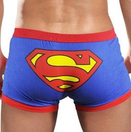 Wholesale men spandex for sale resale online - Men s Underwear Low rise Cotton Cute Cartoon Underpants Boxers For Man Cuecas Shorts Cheap Hot Sale C