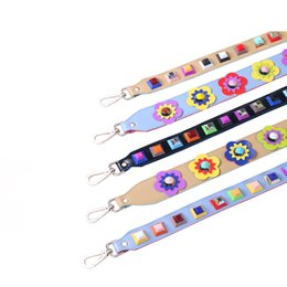 PaPer shoulders online shopping - Fashion Rivet Summer Women Bag Strap Snakeskin Pu Shoulder Straps For Handbags Casual Replacement Straps For Bags