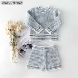 $enCountryForm.capitalKeyWord Australia - Girls Autumn Spring Knit Clothes Handmade Woolen Boys Clothing Infant Newborn Baby 's Set For BoyMX190912