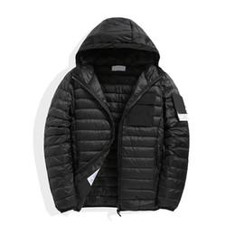 CP COMPANY topstoney PIRATA 2020konng gonng Inverno leggero con cappuccio piumino con cappuccio cappuccio giacca casual alla moda cappotto in piuma in Offerta