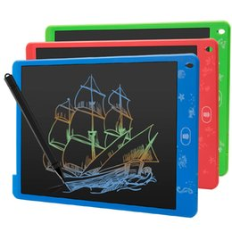 $enCountryForm.capitalKeyWord UK - LCD Colorful Magnetic 12 inch Writing Board Message Board Drawing Tablet Memo Message Digital Graphic drawing pad toy Kids Gift