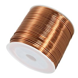 Copper wire rolls online shopping - 1 mmx25m Copper Coil Magnet Wire Welding Cable Enameled Wire Roll
