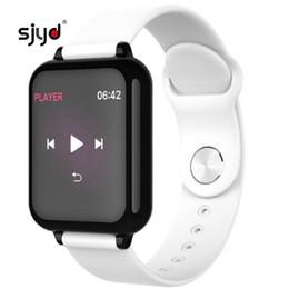 $enCountryForm.capitalKeyWord Australia - B57 Women Smart watches Waterproof Sports For Iphone phone Smartwatch Heart Rate Monitor Blood Pressure Functions For kid pk iwo