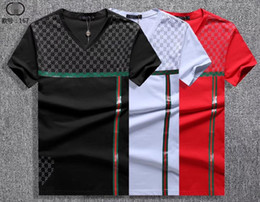 European Clothing Australia - summer 19ss European American style tag snake print clothing men fabric letter polo g t-shirt collar casual women tshirt tee shirt tops 167