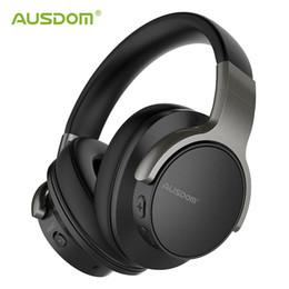 $enCountryForm.capitalKeyWord Australia - Ausdom Anc8 Active Noise Cancelling Wireless Headphones Bluetooth Headset With Super Hifi Deep Bass 20h Playtime For Travel Work T6190612