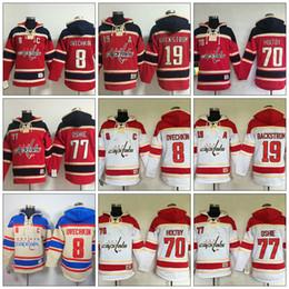 Custom Men s Embroidery Washington Capitals  8 Alexander Ovechkin  70  Braden Holtby  77 TJ Oshie  19 Backstrom Hockey Hoodies Jerseys Free e7f924e36613