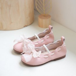 $enCountryForm.capitalKeyWord Australia - Toddler Children Girls Kids Shoes For Girl Baby Girl Kids Sneakers Princess Outdoors Bowknot Breathable Shoes Trainers