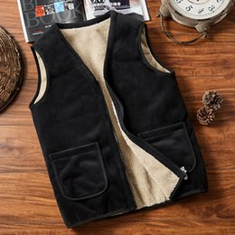 Lamb cardigans online shopping - Lamb Down Man Cotton Keep Warm Light Sports Winter Outdoor Cool Lovers Woman Large Size Vest Cardigan Loose Coat