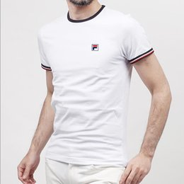 3d25b5af4eb4c 2019 Summer Fashion Men s T Shirt Casual Patchwork Short Sleeve T-Shirt Mens  Clothes Trend Casual Slim Fit Hip-Hop Top Tees 3XL