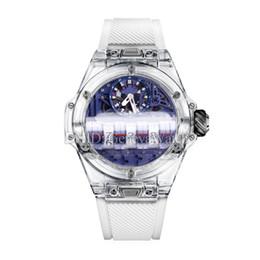 $enCountryForm.capitalKeyWord Australia - 2019 New Mens Designer Watches MP-11 White Rubber Strap Import Swiss Quartz Movement Wristwatch Rouleau 914L Black PVD Dial Luxury Watch
