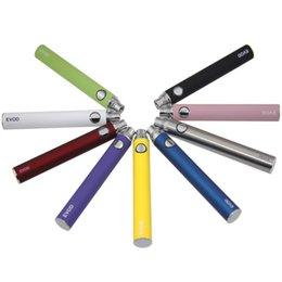 Ce4 Ce5 Pen Australia - Evod Battery 650mah 900mah 1100mah Vape Pen Battery Electronic Cigarettes Vape Batteries For eGo Kit CE4 CE5 MT3 Cartridge Battery