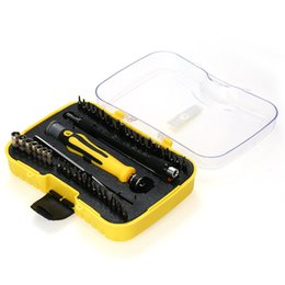 Hex magnetic screwdriver online shopping - 45 in Multi functional Telecommun Tool Magnetic Torx Hex Slotted Phillips Screwdrivers Set Repair Tools Kit