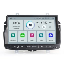 $enCountryForm.capitalKeyWord Australia - COIKA 4-Core CPU Android 9.0 System Car DVD Head Unit Stereo For Lada Vesta Touch Screen GPS Navi 2+16G RAM BT Music OBD DVR SWC 4G