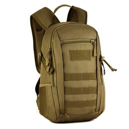 Discount tactical gear bags - Norbinus 12L Mini Daypack MOLLE Backpack Rucksack Gear Tactical Assault Student School Bag for Hunting Camping Trekking