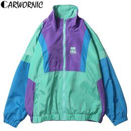 $enCountryForm.capitalKeyWord Canada - CARWORNIC Harajuku Windbreaker Jackets Men Autumn Retro Japanese Style Streetwear Jackets Vintage Hip Hop Vintage Zip Track Coat