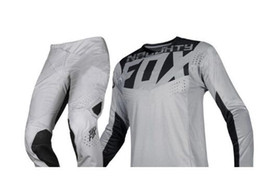 $enCountryForm.capitalKeyWord NZ - NEW 2019 NAUGHTY FOX MX 360 Kila Grey Jersey Pants Adult Motocross Racing Gear Set Combo ATV Dirt Bike Off Road