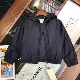 Wholesale 2019 Single jacket kids sport boys coat Spring summer boys brand jackets