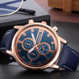 $enCountryForm.capitalKeyWord Australia - MIGEER Men Wrist Watch Retro Design Leather Band Analog Alloy Quartz watch man watches mens 2019 relogio masculino