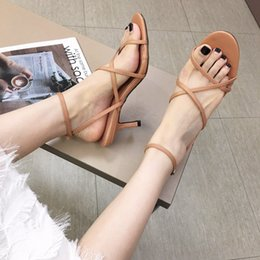 $enCountryForm.capitalKeyWord Australia - Alluring2019 Refreshing And Cool Women's Shoes Hollow Out Comfortable Fine With Sandals 198-3
