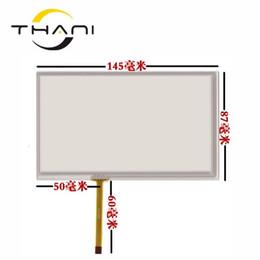 $enCountryForm.capitalKeyWord UK - Thani new 6 Inch 145*87mm Touch Screen TM060RDH01 car DVD navigation V060FW02 touch screen panel Glass Free shipping+tools