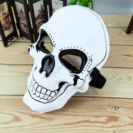 Skull Masks Face Coverings NZ - Halloween Skull Mask Mask Scared Face Cover Party Supplier