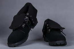 $enCountryForm.capitalKeyWord Australia - AUTHENTIC CUSTOM ROLL TOP SNOW BOOTS IN BLACK FOR MEN CHEAP FOLD DOWN WITH FUR BOOT MENS ON SALE WORK HIKING SHOES OUTLET SHIPPED FREE